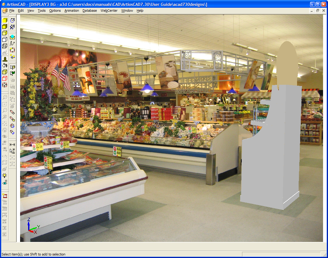 Background image align - The 3d Workspace Will Be Turned Back On And Aligned Inside The Alignment Rectangle As Shown Below